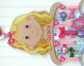 Deluxe Accessory Holder / Customized / Hand Painted & Personalized