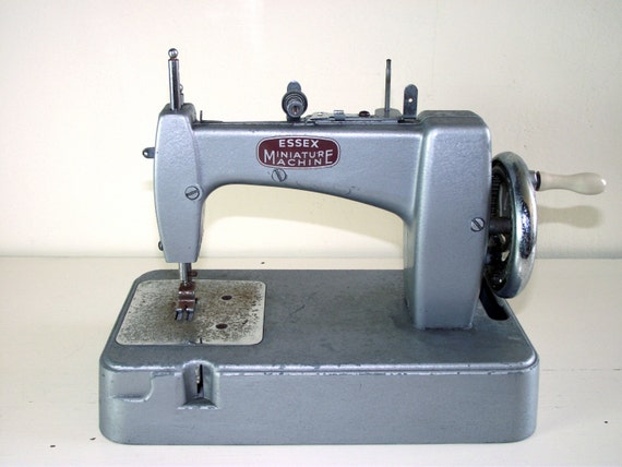 1950's child's sewing machine from Vintage and Loved