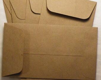 """Envelopes, Craft Envelope, Color Envelopes,  Paper Envelopes, Choice of Colors, 3-5/8"""" x 6-1/2"""", 24 PC"""
