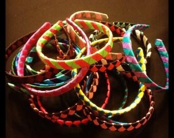 TWENTY...Woven 1/2 Inch Headbands...Headbands...Hairbows...Girls Hairbows...Wholesale Hairbows...Wholesale Headbands