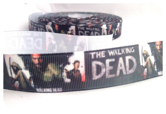 Zombie Wedding Gifts: Items Similar To Zombie Walking Dead DIY Crafting Ribbon