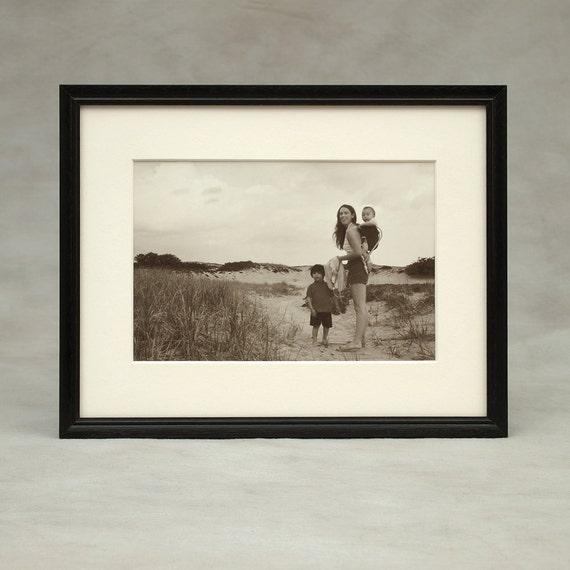 75x10 85x10 85x11 wood picture frame peruvian dark walnut exotic
