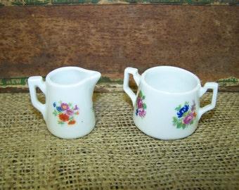 Tiny Czechoslovakian Porcelain Pieces