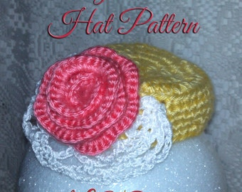 Vintage Pillbox Hat Crochet Pattern