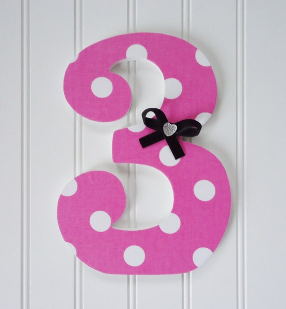 Items similar to Birthday Photo Prop, Wooden Number, First ...