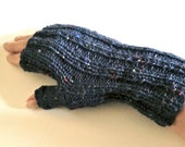 Chimney Fingerless gloves, mitts, Knit PDF Pattern in 3 sizes, Double Diamond Knits,                    permission to sell finished items