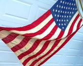 RESERVED   American 50 Star Flag Valley Forge Pioneer Flag