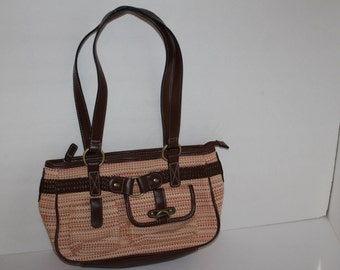 Purse Woven Style Vintage Purse Free Shipping