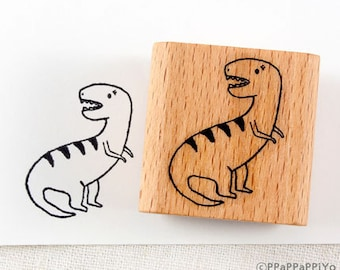 50% OFF SALE Dinosaur Rubber Stamp