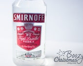Smirnoff Christmas Ornament-- Smirnoff Vodka Themed Christmas Tree Ornament.