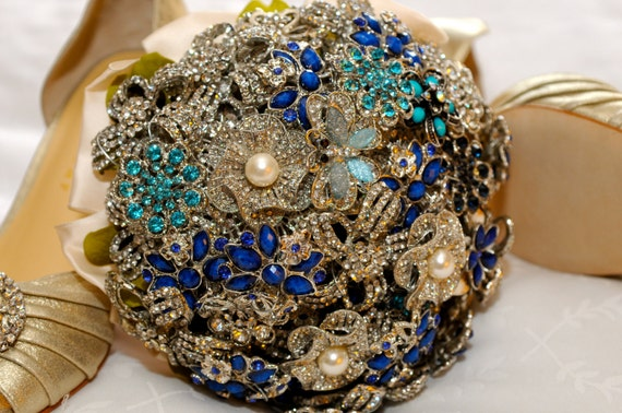 Custom Order Brooch Bouquet