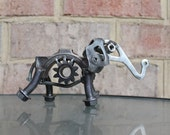 RESERVED FOR GAURAV - Bernie The Elephant, Recycled Metal Sculpture