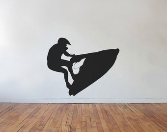 Jetski Seadoo Jump Vinyl Wall Decal