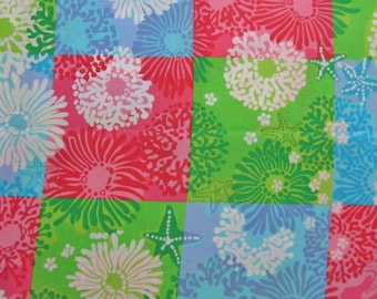 Lilly  Pulitzer fabric Star Sighting Patch