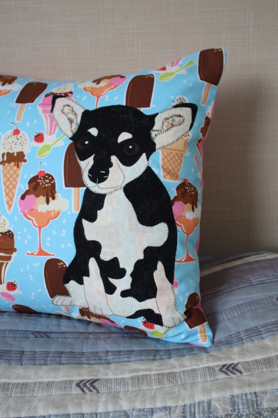 Cheeky Chihuahua Pillow