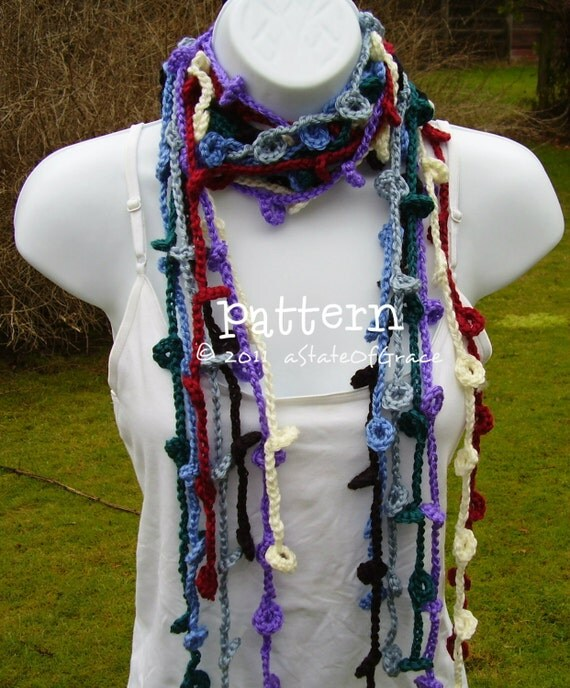 Famous Crochet Skinny Scarf Pattern Ornament - Easy Scarf Knitting ...