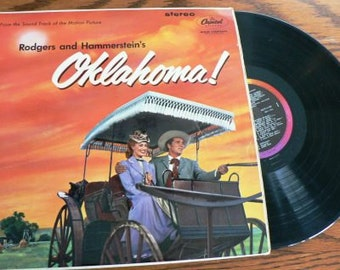 vintage retro rage ... Rogers and Hammersteins OKLAHOMA  Record ...