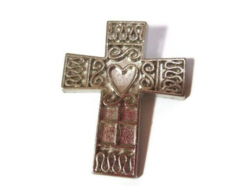 Cross Lapel Pin Brooch