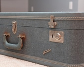 Travella Vintage Denim Suitcase