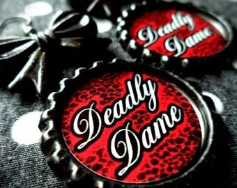 Simply Deadly earrings