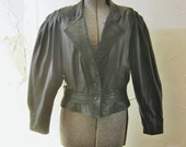Motorcycle Jacket / Vtg 8...