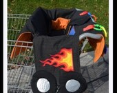 Custom Shopping Cart Cover Coupe Car