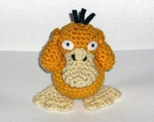 Psyduck Crochet Plush