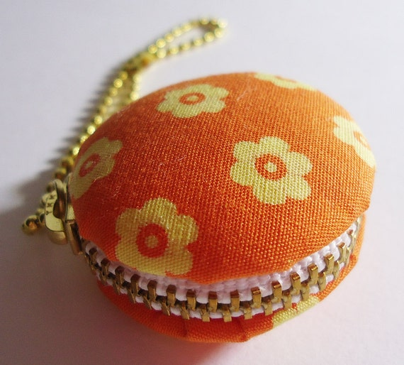 Upcycled Japanese Fabric Macaron Case