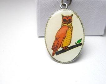 Owl Necklace   Free Shipping  and gift