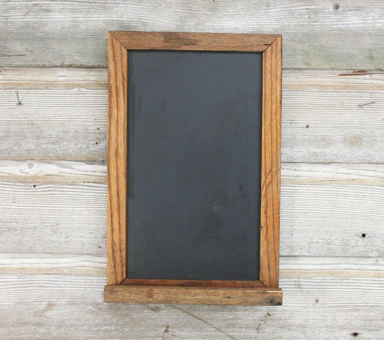 Vintage Slate Chalkboard Oak Framed Chalkboard