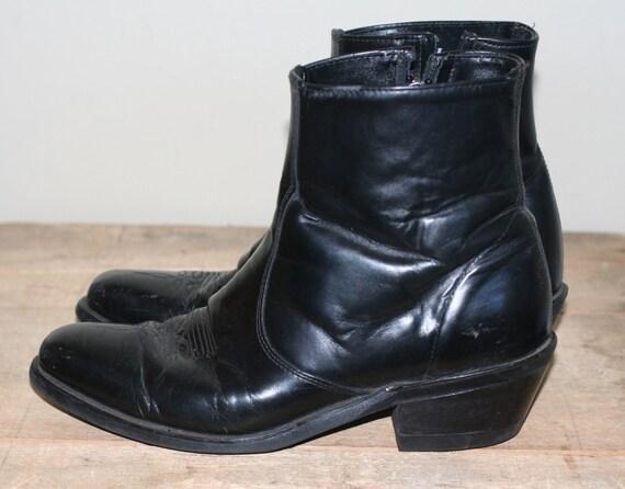 vintage mens western ankle boots size 9EE