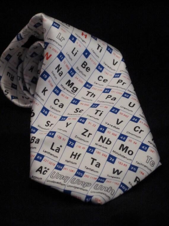 Periodic table ties periodic diagrams science periodic table tie malaysia diagrams science urtaz Choice Image