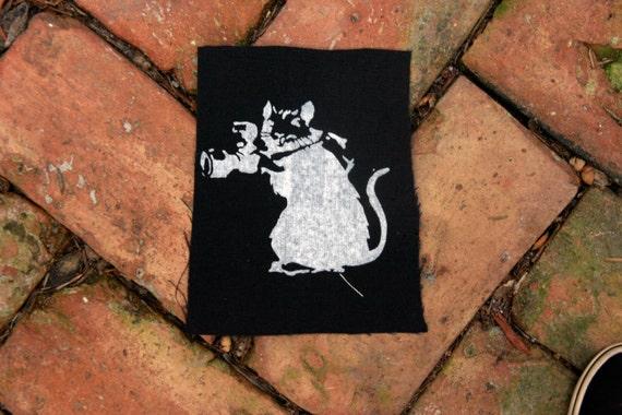 Banksy Rat Patch