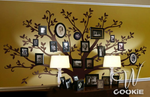 Wall Decal Family Tree Nursery Wall Decal