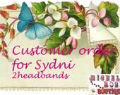 Custom order for Sydni