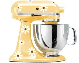 Elegant Paisley Stand Mixer Decals For Your By Goodmommyltd