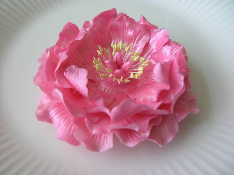 Gum Glue Cake Decorating : GUM PASTE PEONIES / Gorgeous Cake Decorations