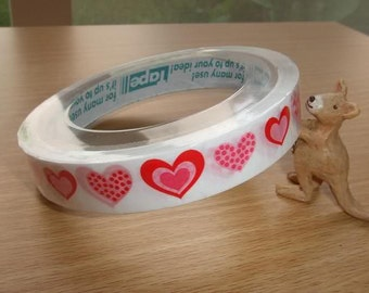 CUTE HEARTS Design Japanese Deco Tape - Prime Nakamura