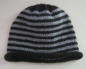 Knitted Oakland Raider Beanie