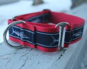 "Kane's Marlins - 1.5"" Martingale Collar"