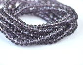 crystal purple 1 strand  jewelery making materials