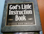 God's Little Instruction Book - Special Gift Edition - OOAK