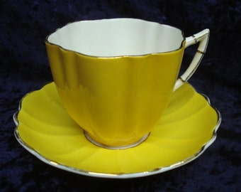 Lovely VICTORIA China CUP and SAUCER Set  by C and E  England Entitled Victoria English Bone China