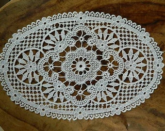 """Vintage French """"Two white napery"""""""