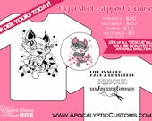 RESCUE Reusable Tote February Limited Edition Kitty with Hearts and Banner 25% of proceeds go to animal rescue