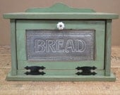 Punched Tin, Bread Box, Cottage, Kitchen SHIPS FREE in the US!