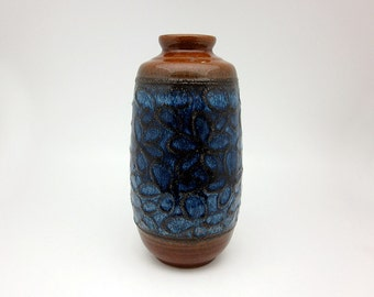 1960s lava vase by Strehla Keramik (East Germany)