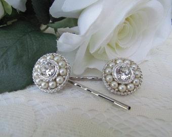 Pearl bridal hair pins,crystal wedding hair comb,wedding hair accessories,pearl bridal comb,crystal wedding comb,bridal headpieces,hair comb