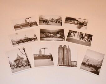 Orlando Photos, Vintage Black and White Pictures, 50's Photography, Set of 10 Vintage Black and White Orlando, FL, Photos