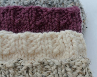 Ribbed Knit Winter Headband